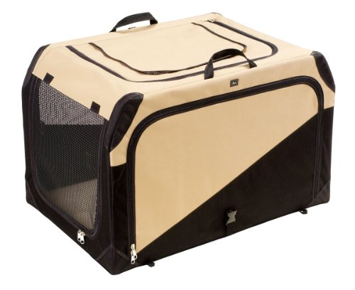 Hunter faltbare Hundetransportbox Größe L - 91 x 61 x 58 cm