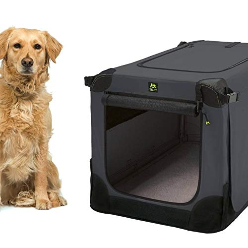 Maelson Soft Kennel Hundebox Anthracite, Größe XL – 105 x 72 x 81 cm - 3
