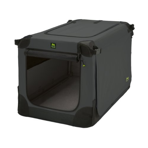Maelson Soft Kennel Hundebox Anthracite, Größe XXL – 120 x 77 x 86 cm