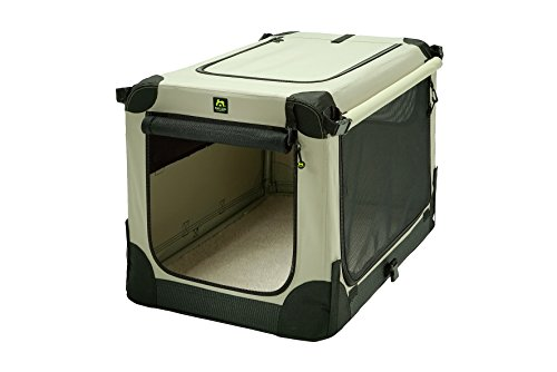 Maelson Soft Kennel S faltbare Hundebox -beige- 72 - (72 x 52 x 51 cm)