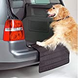 Big Ant Auto Ladekantenschutz für Hund, Stoßstangenschutz Hund, Stossstangenschutz Hund, Auto stossstangen Schutz passt auf Alles Fahrzeug und alle Jahreszeiten