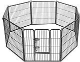 MAXX - Welpenauslauf für Hunde - Laufställe - Kaninchen kleine Haustiere - Ø 210 cm (80x80 cm)