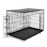 dibea Hundetransportkäfig Tiertransportbox Hundebox Größe XXXL