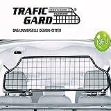 TierXXL.de Kleinmetall TraficGard geeignet für VW Golf 6 Variant Kombi Bj: 2008-2013, Hundegitter Trenngitter Gepäckgitter (TGN-S)