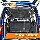 Travall Guard Hundegitter Kompatibel Mit Volkswagen Caddy (Ab 2003) Caddy Maxi (Ab 2007) TDG1223 - Maßgeschneidertes Trenngitter in Original Qualität