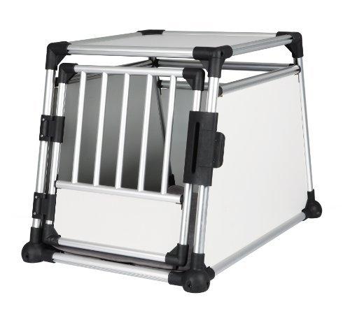 trixie hundebox m l trixie transportbox aluminium front. Black Bedroom Furniture Sets. Home Design Ideas